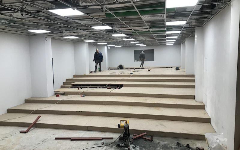 konferans salonu yapımı