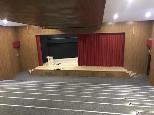 konferans salonu. tamiri